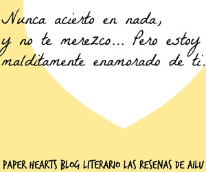 beautiful disaster, frases, and paper hearts image