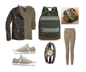 converse, Polyvore, and neutral image