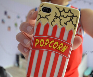popcorn, quality, and tumblr image