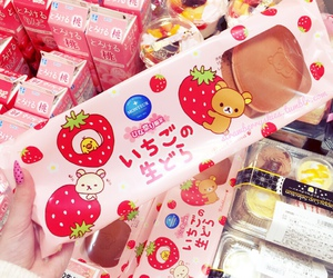 food, japan, and rilakkuma image