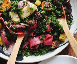 food, green, and purple image