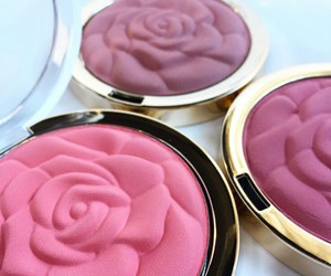 beauty, makeup, and blush image