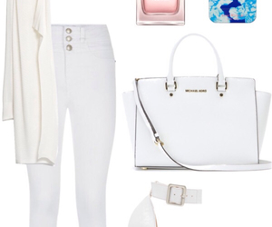 outfit, selena gomez, and white image