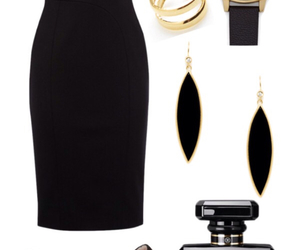 black, flawless, and gold image