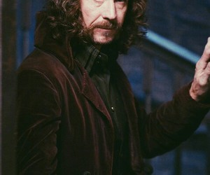 sirius black and harry potter image