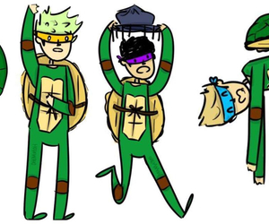 fan art, ninja, and turtles image
