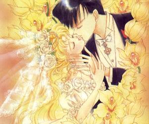 sailor moon, usagi tsukino, and anime image