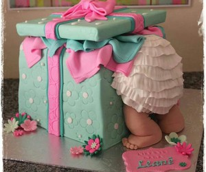cake and baby image
