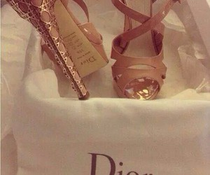 dior, shoes, and heels image