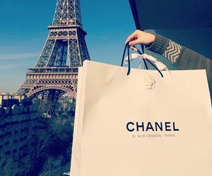 chanel and paris image