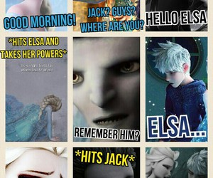 jack frost, merida, and pitch image