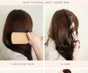hair, beauty, and tutorial image