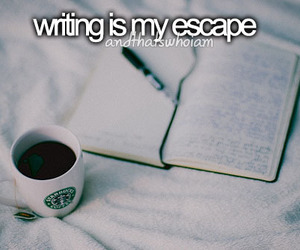 escape, quote, and writing image