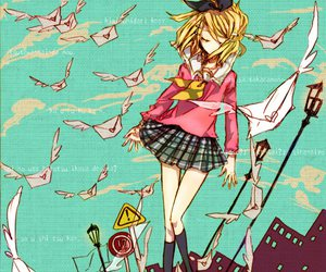 kagamine rin and lettre d'amour image