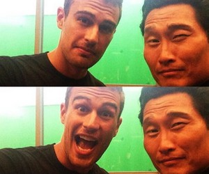 theo james and insurgent image