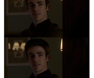 the flash, barry allen, and grant gustin image