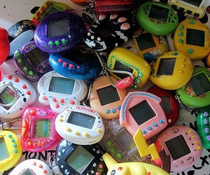 tamagotchi, tamagochi, and childhood image