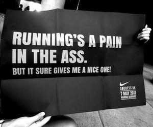 motivation, quotes, and running image