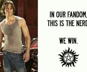 supernatural, nerd, and sam winchester image