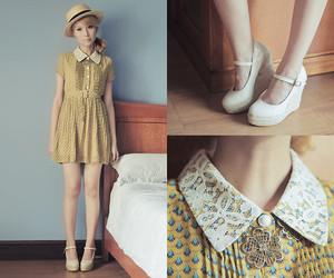 blonde, copycat, and dress image