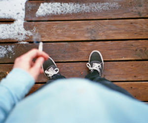 boy, cigarette, and guy image