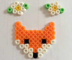diy, flowers, and fox image