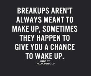break up and wake up image