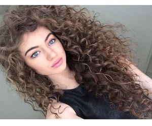 hair, curly, and dytto image