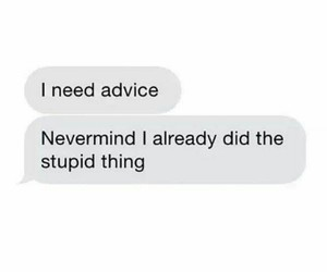 advice, advise, and best friend image