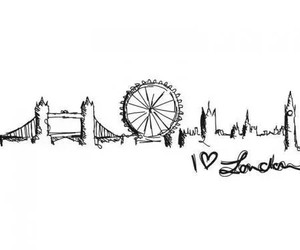 london, england, and city image