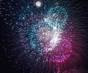 fireworks, colours, and light image
