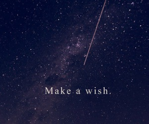 sky, wish, and starts image