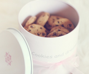 cookie, food, and yum image