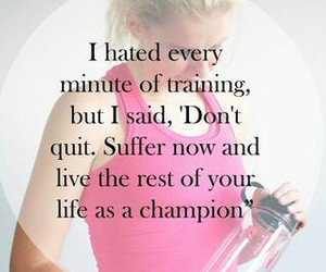 champion, fitness, and sweat image