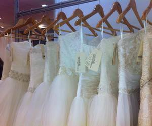blush, bridal, and brodery image