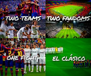 real madrid, fcb, and el clasico image