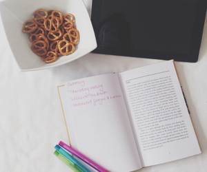 book, college, and food image