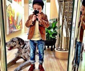 boy, dog, and sweet image