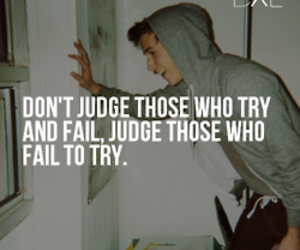 fail, judge, and quote image