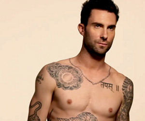 adam, maroon 5, and one love image