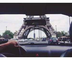 paris, travel, and car image