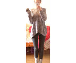 cosy, socks, and jeans image