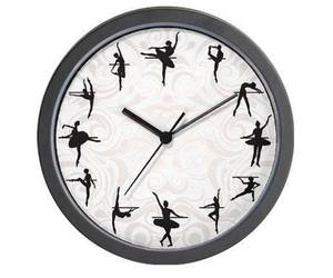 ballet, dance, and clock image