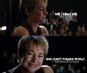 insurgent, tris, and will image