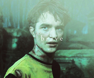 cedric diggory, rip, and harry potter image