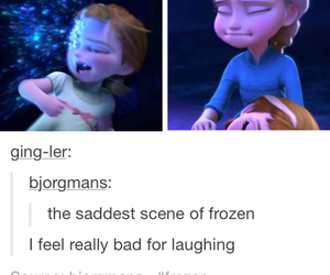 frozen, funny, and lol image
