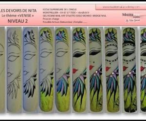 nail art, nails, and tutorial image