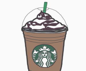 starbucks, tumblr, and chocolate image
