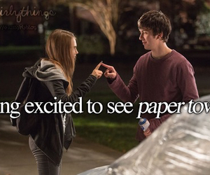 paper towns, movie, and excited image