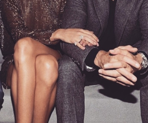 couple, luxury, and rosie image